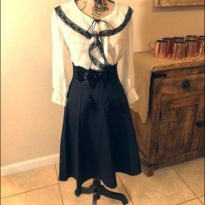 Bundle Two Black Skater Skirts